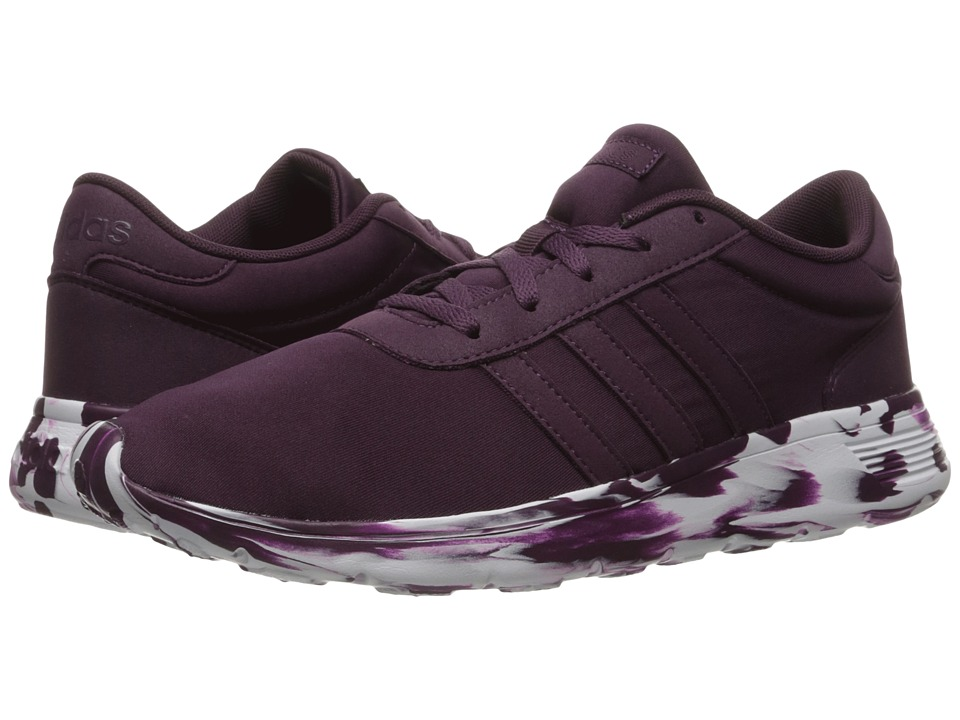 adidas - Lite Racer (Merlot/White) Women's Shoes