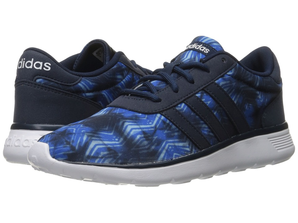 adidas - Lite Racer (Navy/White/Print) Women's Shoes