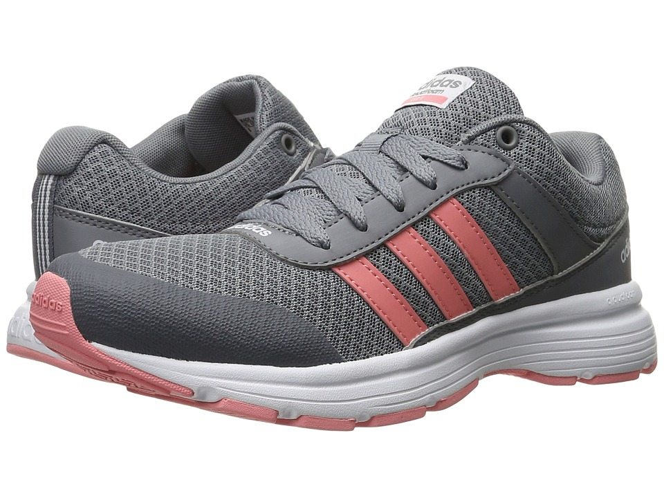 adidas - Cloudfoam VS City (Grey/Ray Pink/White) Women's Running Shoes
