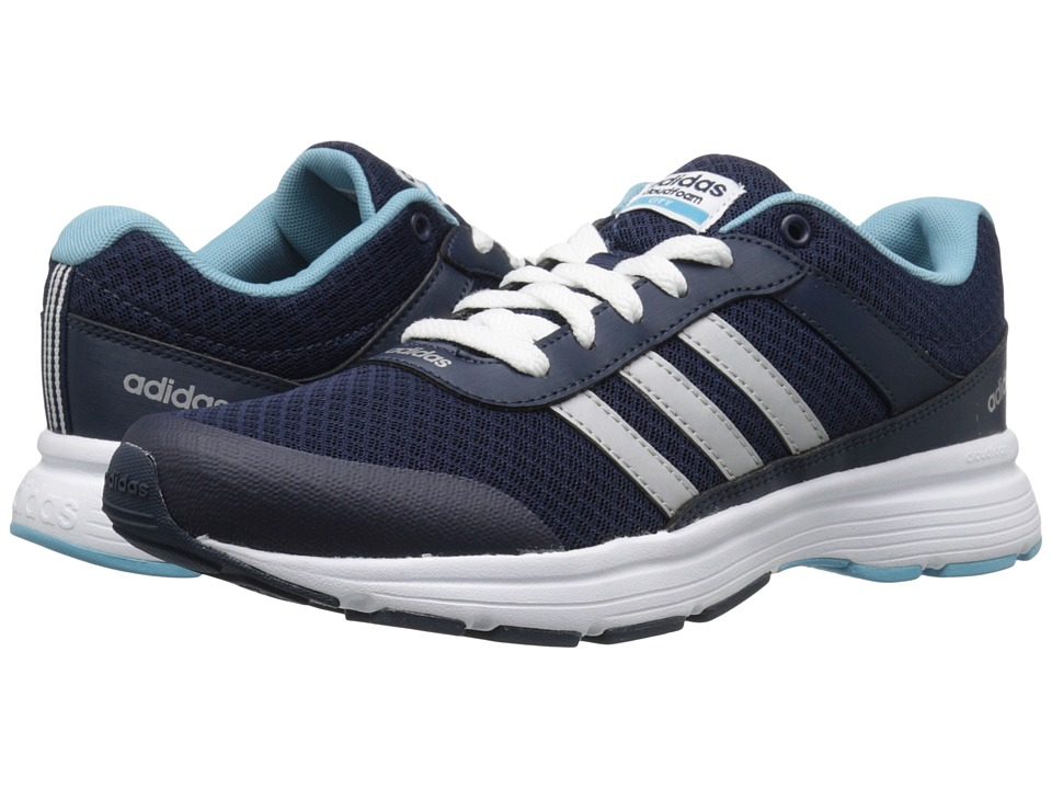 adidas - Cloudfoam VS City (Navy/Silver/Blue) Women's Running Shoes