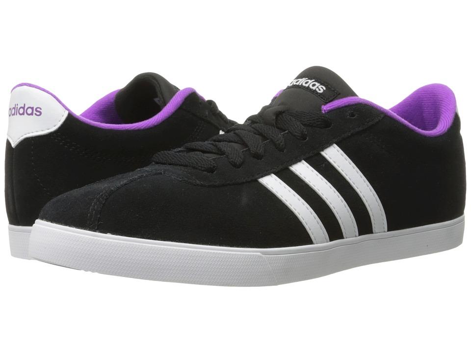 adidas Courtset (Black/White/Shock Purple) Women