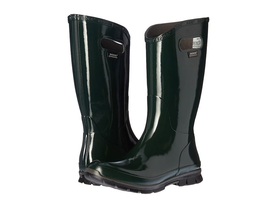 Bogs - Berkeley (Dark Green) Women's Rain Boots