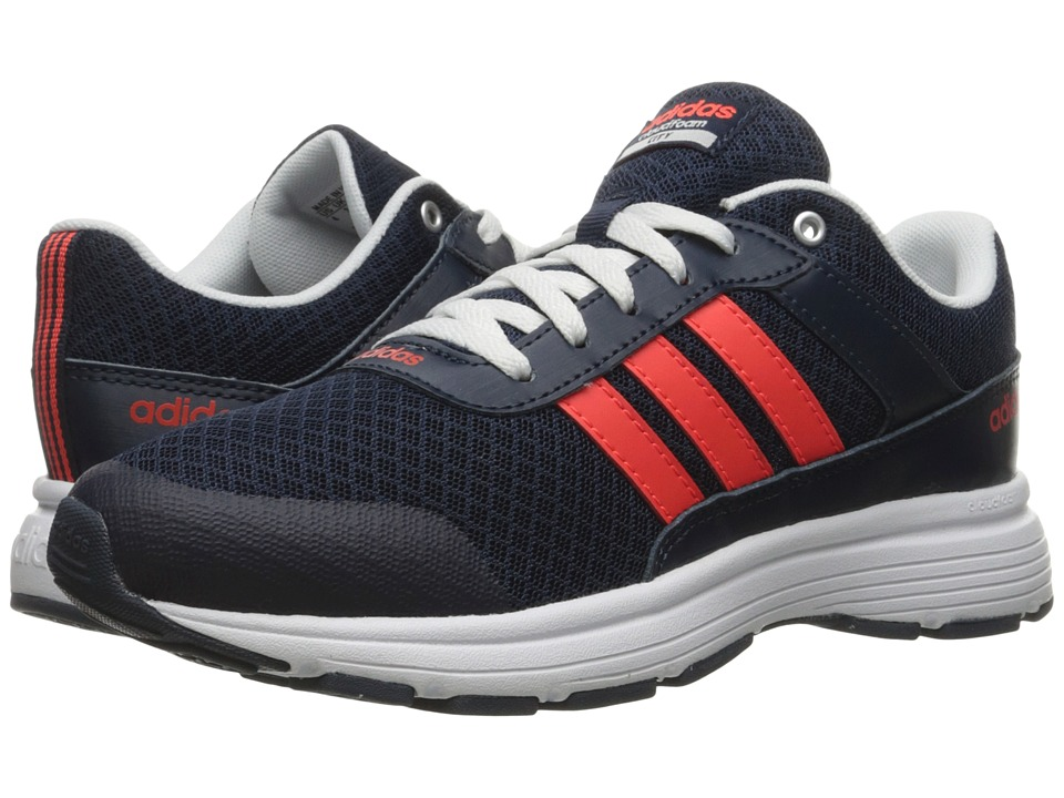 adidas Kids Cloudfoam VS City (Little Kid/Big Kid) (Collegiate Navy/Power Red/White) Kids Shoes