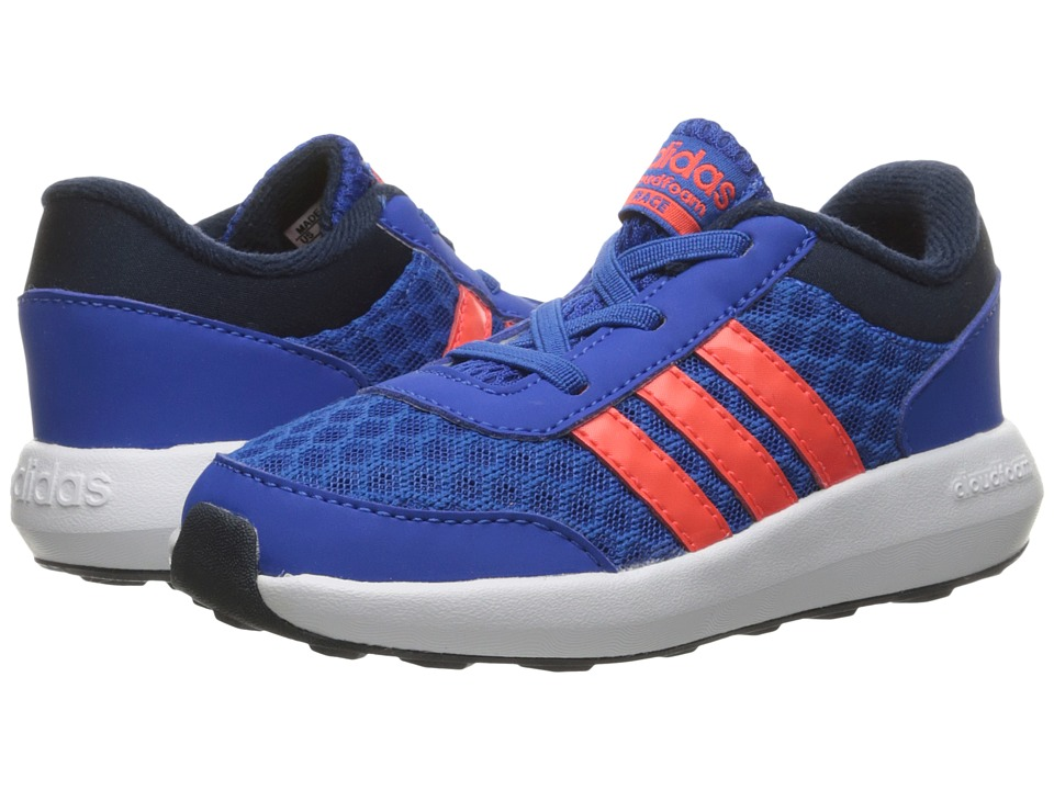 adidas Kids - Cloudfoam Race (Infant/Toddler) (Blue/Solar Red/Collegiate Navy) Kids Shoes