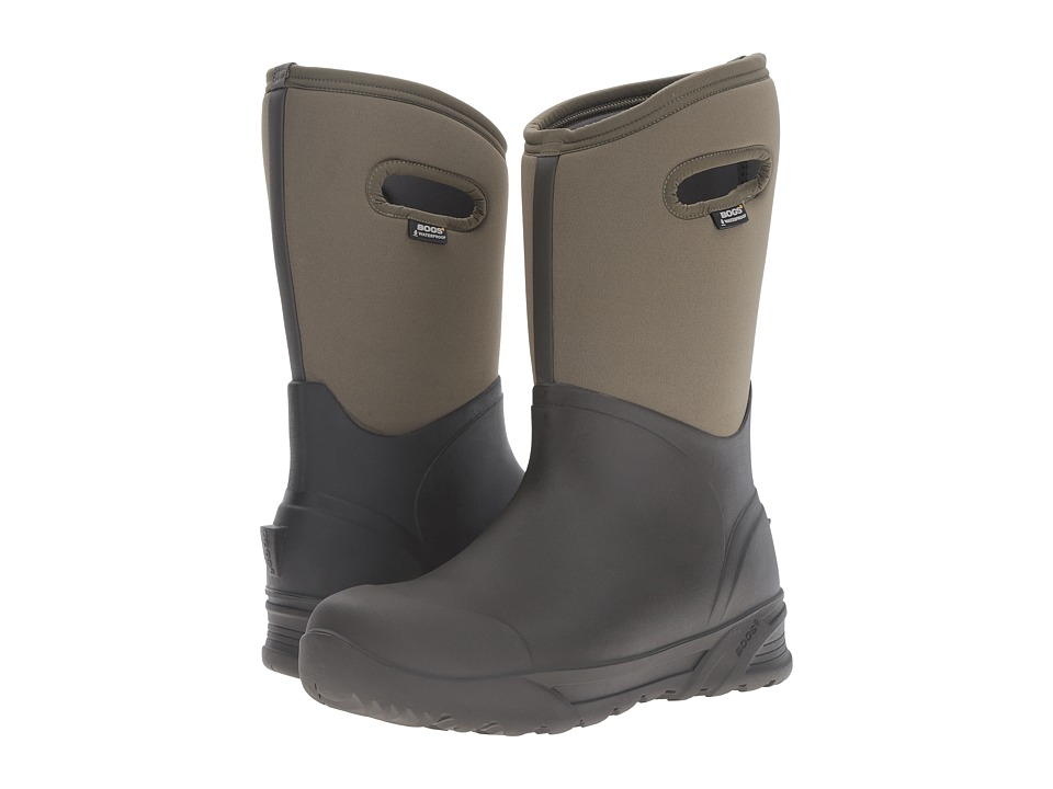 Bogs - Bozeman Tall Boot (Olive) Men's Waterproof Boots