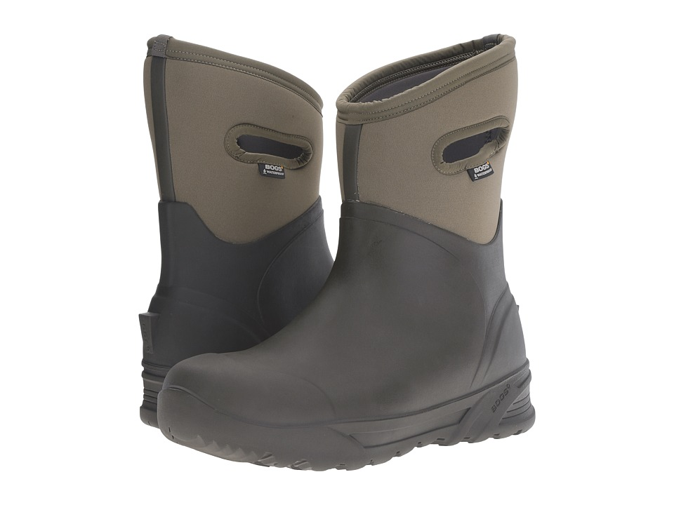 Bogs - Bozeman Mid Boot (Olive) Men's Waterproof Boots
