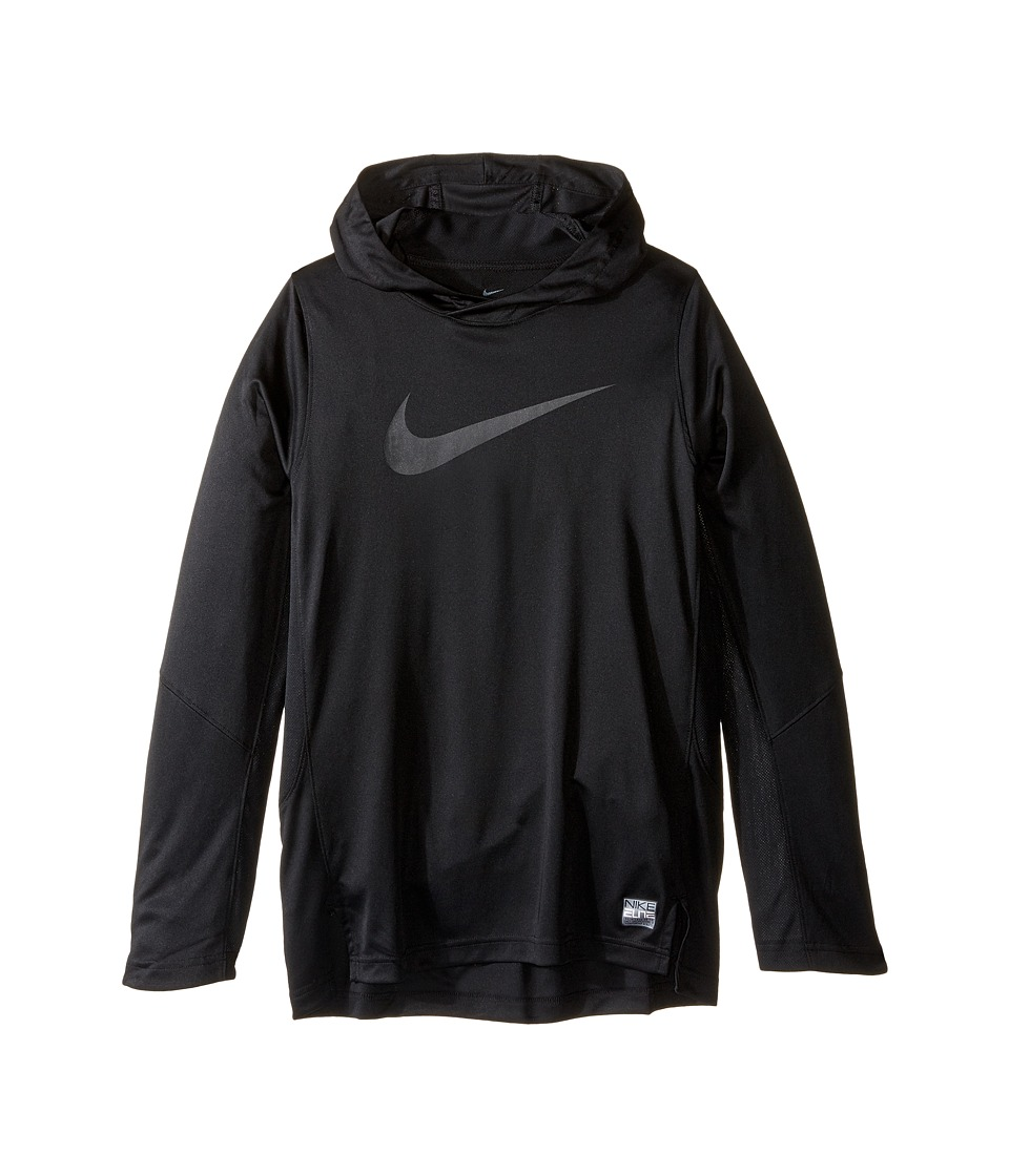Nike Kids - Dry Elite Shooter Hoodie (Little Kids/Big Kids) (Black) Boy's Clothing