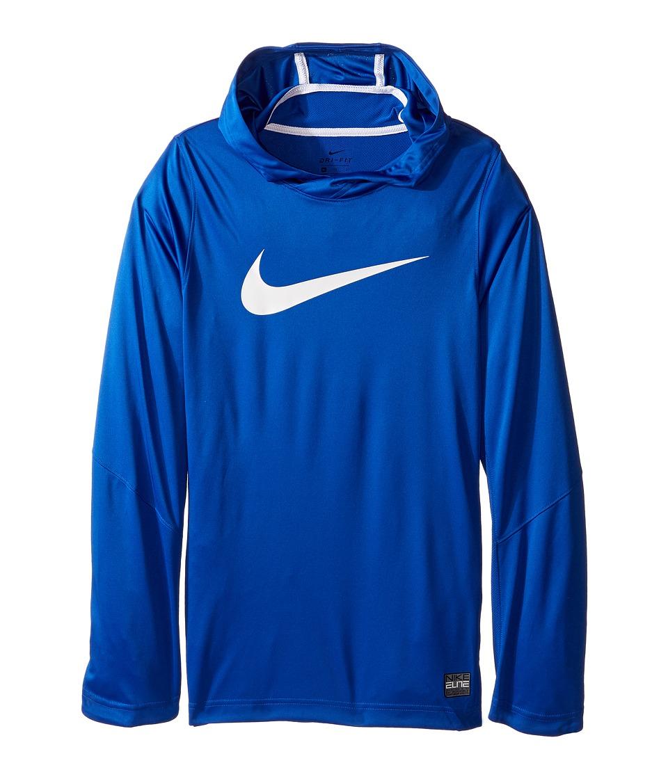Nike Kids - Dry Elite Shooter Hoodie (Little Kids/Big Kids) (Game Royal) Boy's Clothing