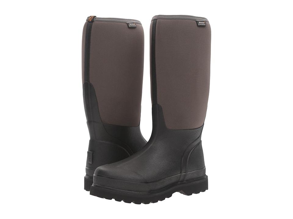 Bogs - Rancher Cool Tech Boot (Black/Gray) Men's Waterproof Boots