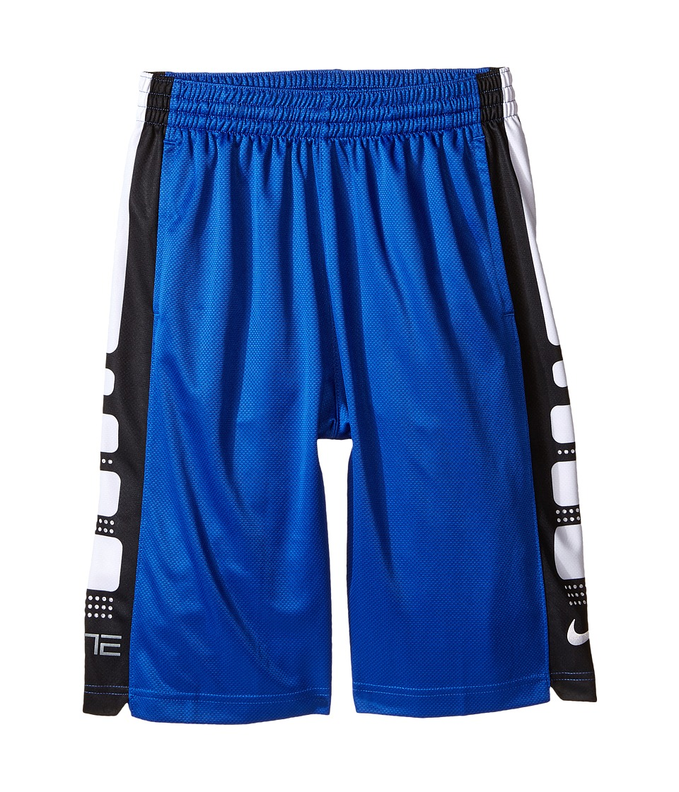 Nike Kids - Elite 8 Basketball Short (Little Kids/Big Kids) (Game Royal/Black) Boy's Shorts