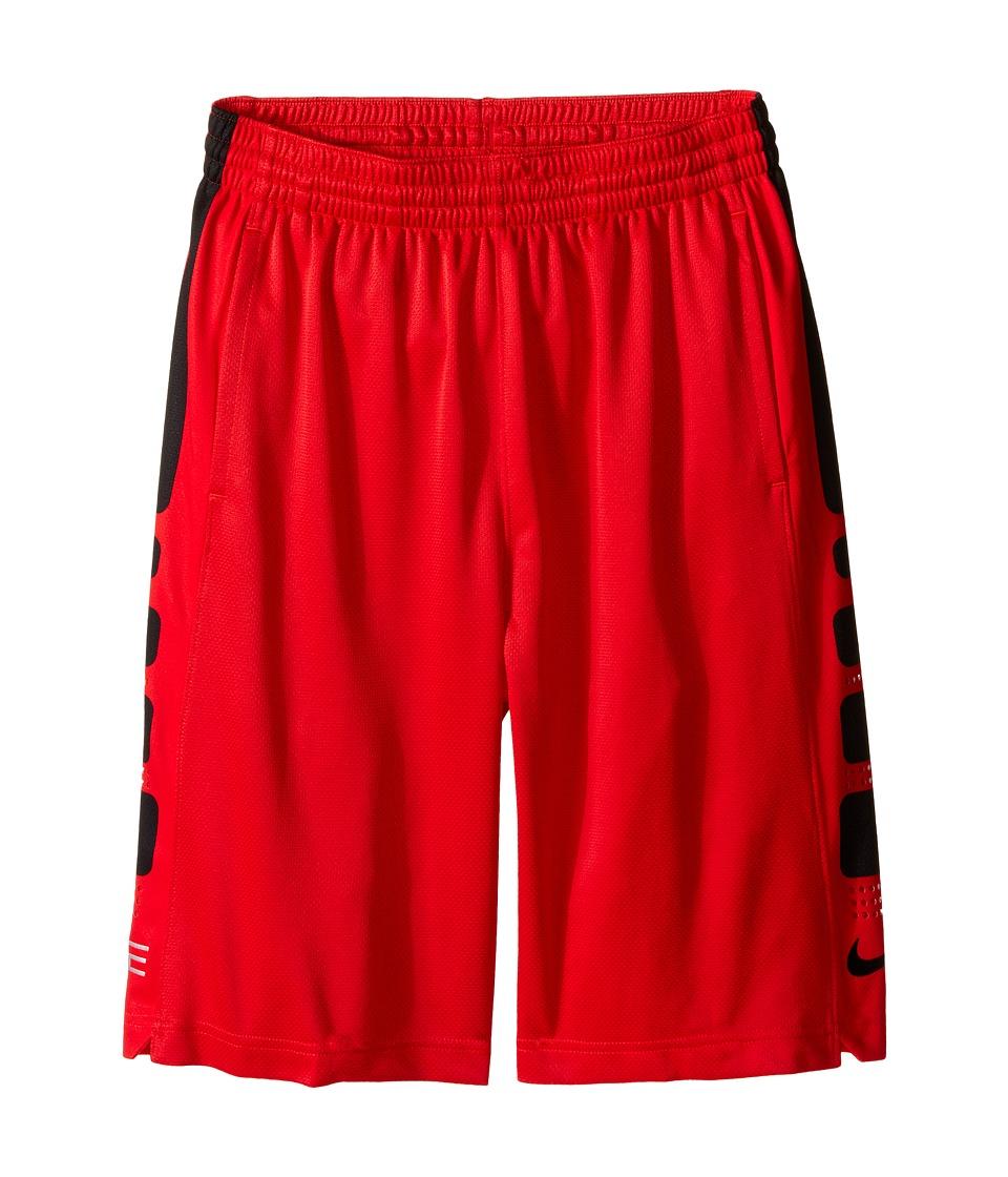 Nike Kids - Elite 8 Basketball Short (Little Kids/Big Kids) (University Red/Black) Boy's Shorts