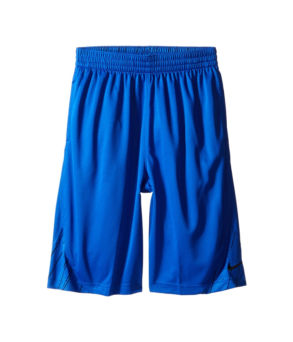 Nike Kids - GFX Avalanche Shorts (Little Kids/Big Kids) (Game Royal/Black/Black) Boy's Shorts