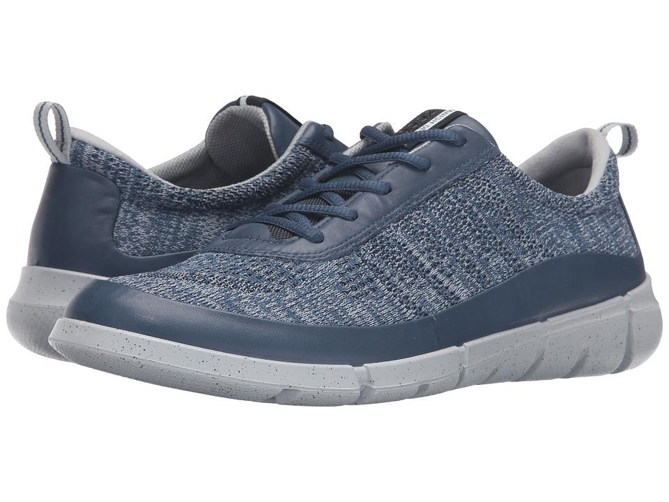 ECCO Sport - Intrinsic Knit (True Navy/Concrete) Men's Shoes