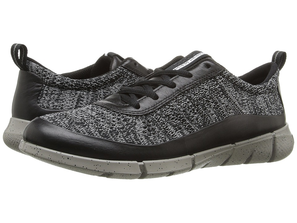 ECCO Sport - Intrinsic Knit (Black/Concrete) Women's Walking Shoes