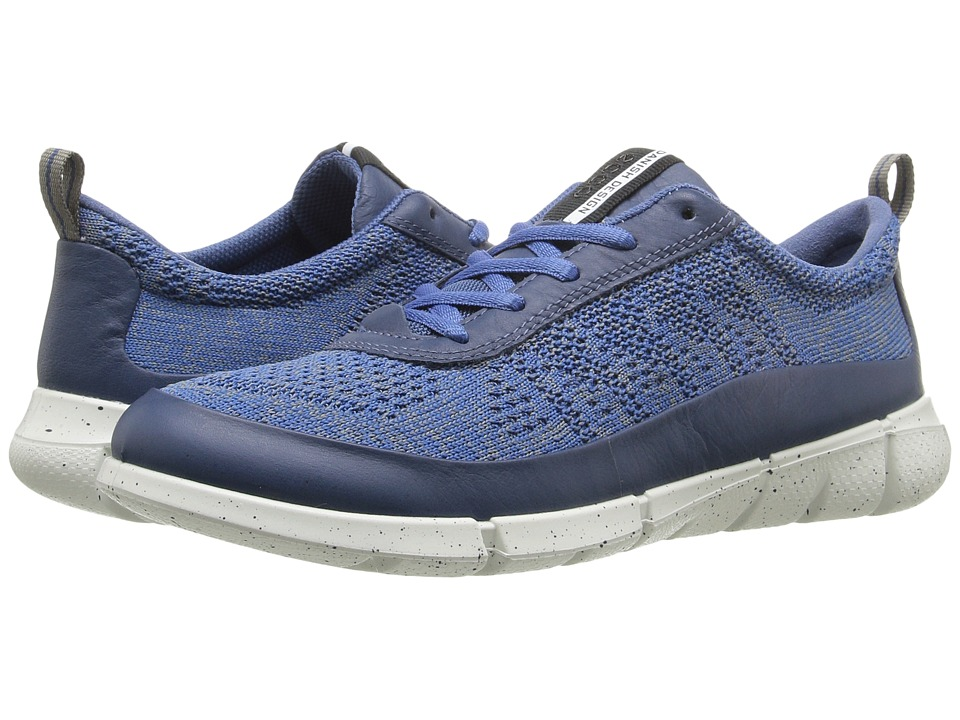 ECCO Sport - Intrinsic Knit (Denim Blue/Moon) Women's Walking Shoes