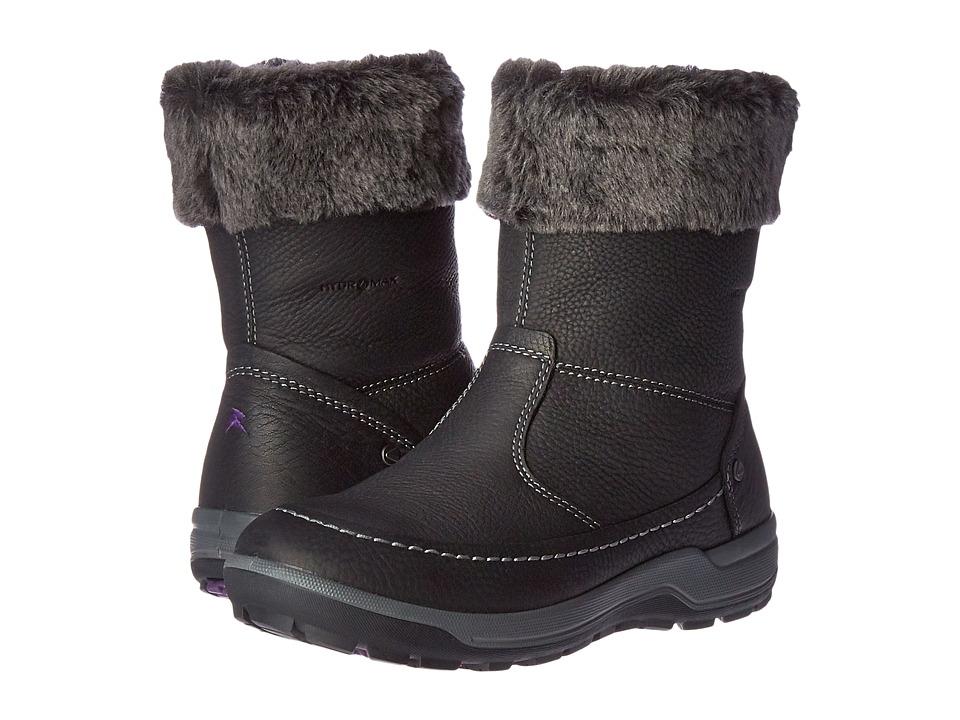 ECCO Sport - Trace Boot (Black/Dark Shadow) Women's Shoes