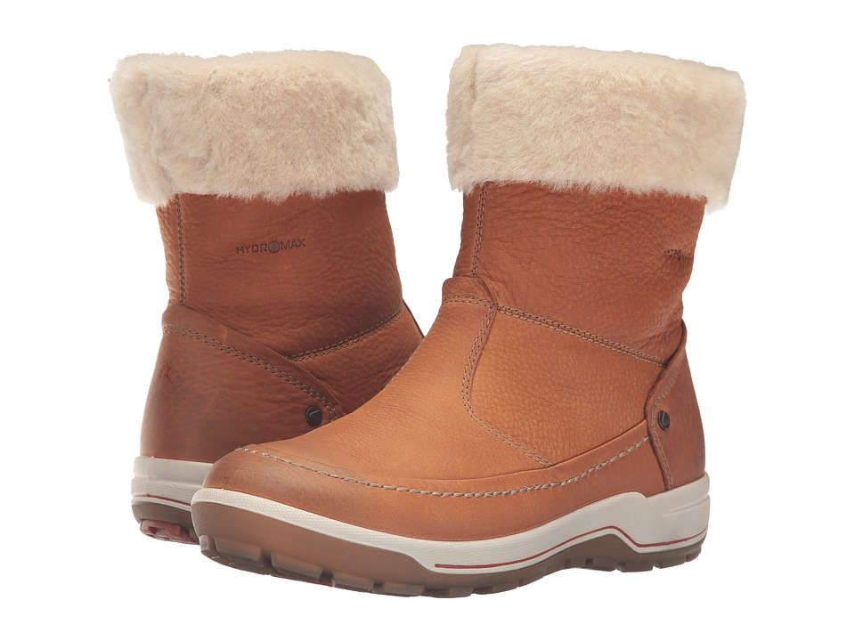 ECCO Sport Trace Boot (Amber/Sand) Women