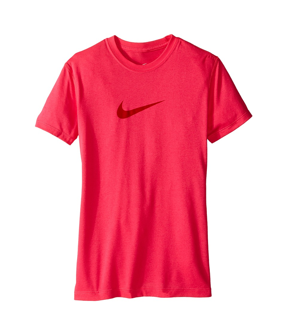 Nike Kids - Legend Training Tee (Little Kids/Big Kids) (Hyper Pink/University Red) Girl's Workout