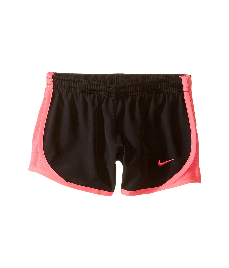 Nike Kids - Tempo Short (Little Kids/Big Kids) (Black/Hyper Pink/Hyper Pink/Hyper Pink) Girl's Shorts