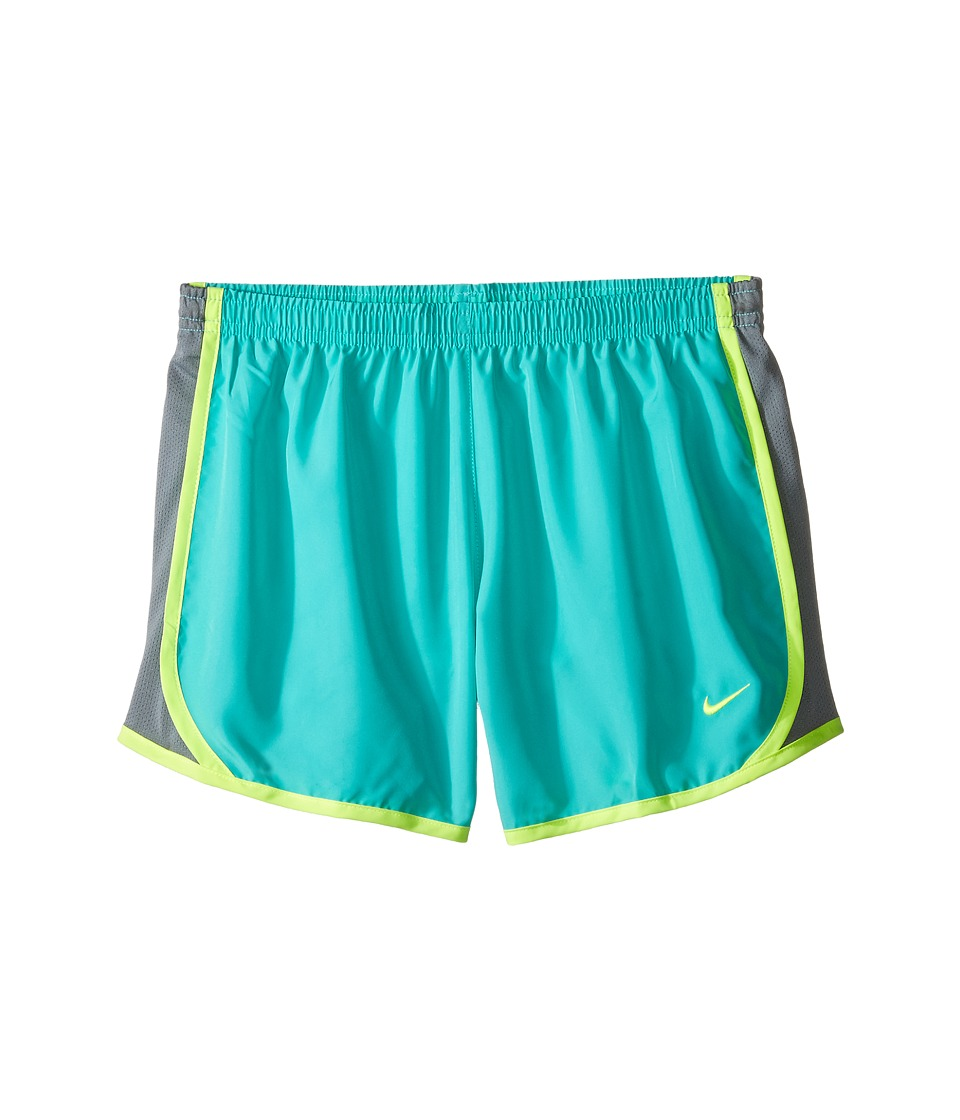 Nike Kids - Tempo Short (Little Kids/Big Kids) (Hyper Jade/Cool Grey/Volt/Volt) Girl's Shorts