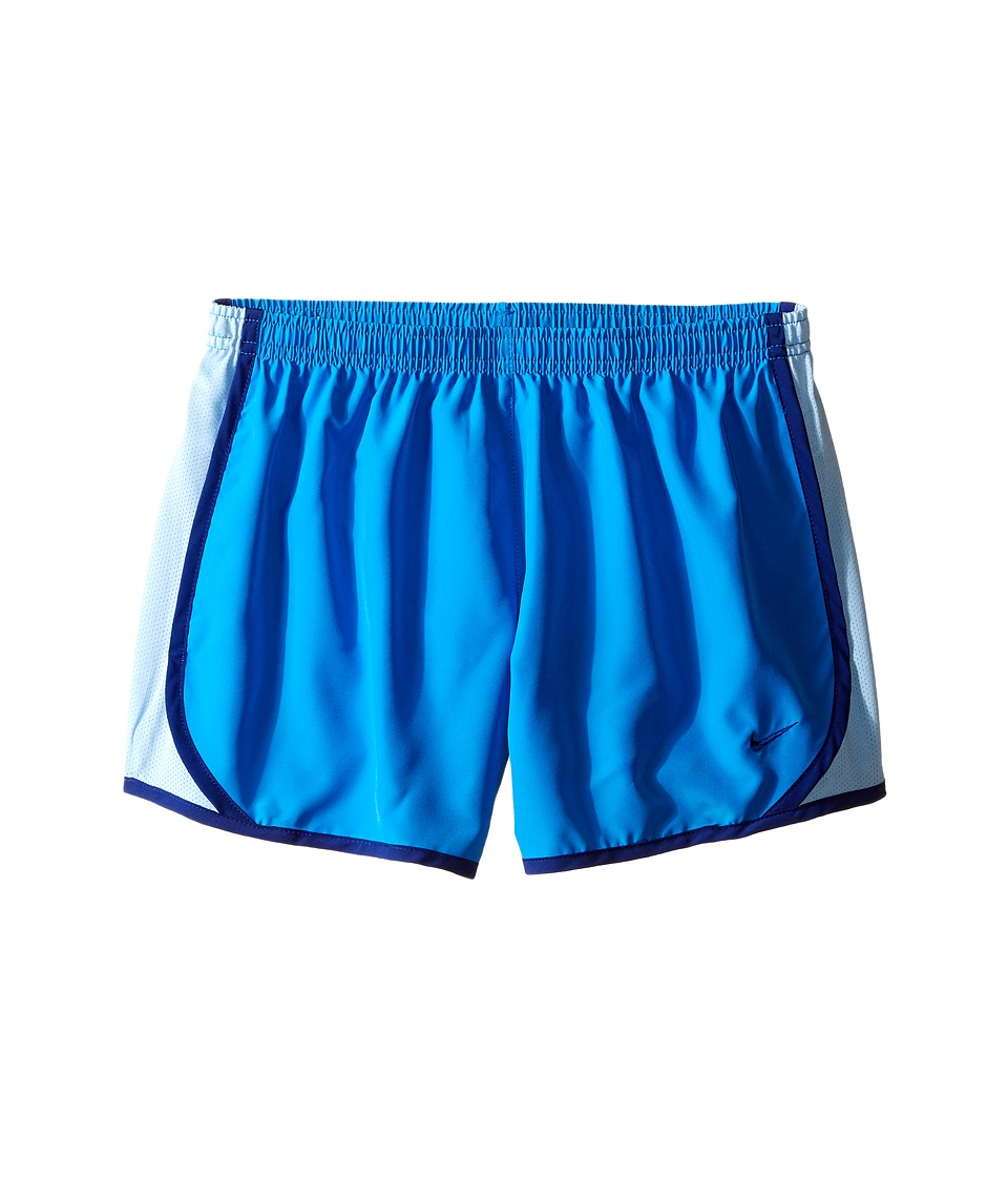 Nike Kids - Tempo Short (Little Kids/Big Kids) (Light Photo Blue/Bluecap/Deep Royal Blue) Girl's Shorts