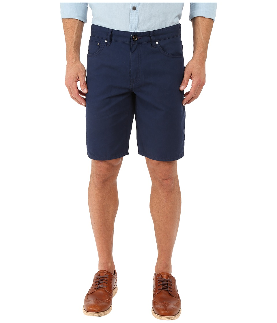 Ted Baker - Fivesho Five-Pocket Shorts (Navy) Men's Shorts