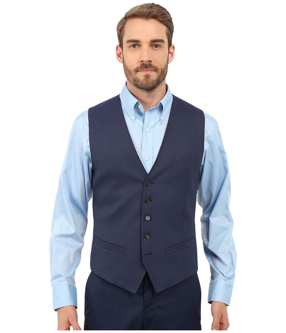 Ted Baker - Hanwai Waistcoat (Dark Blue) Men's Vest