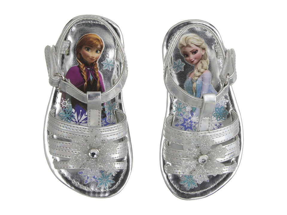 Josmo Kids - Frozen Snowflake Sandal (Toddler/Little Kid) (Silver) Girls Shoes