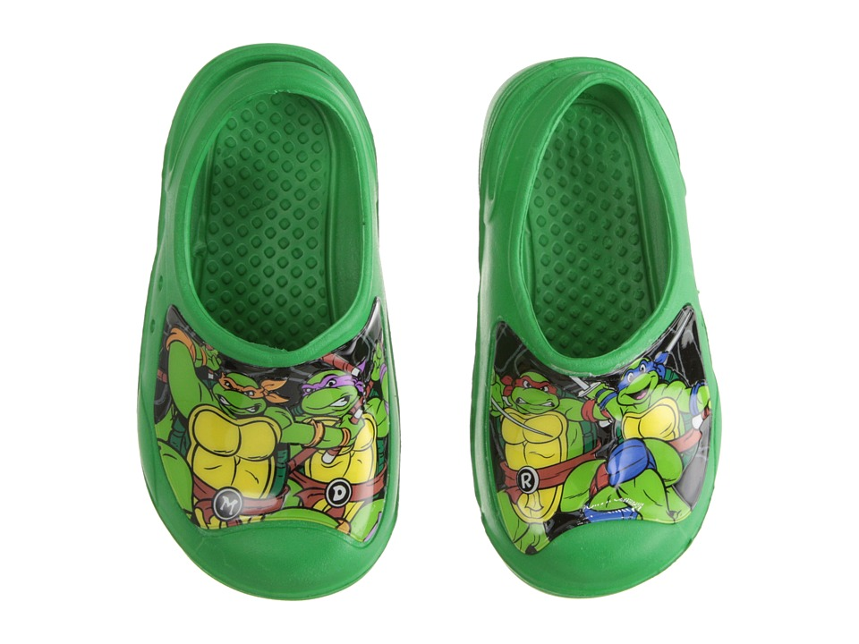 Josmo Kids - Ninja Turtle Clog (Toddler/Little Kid) (Green) Boys Shoes