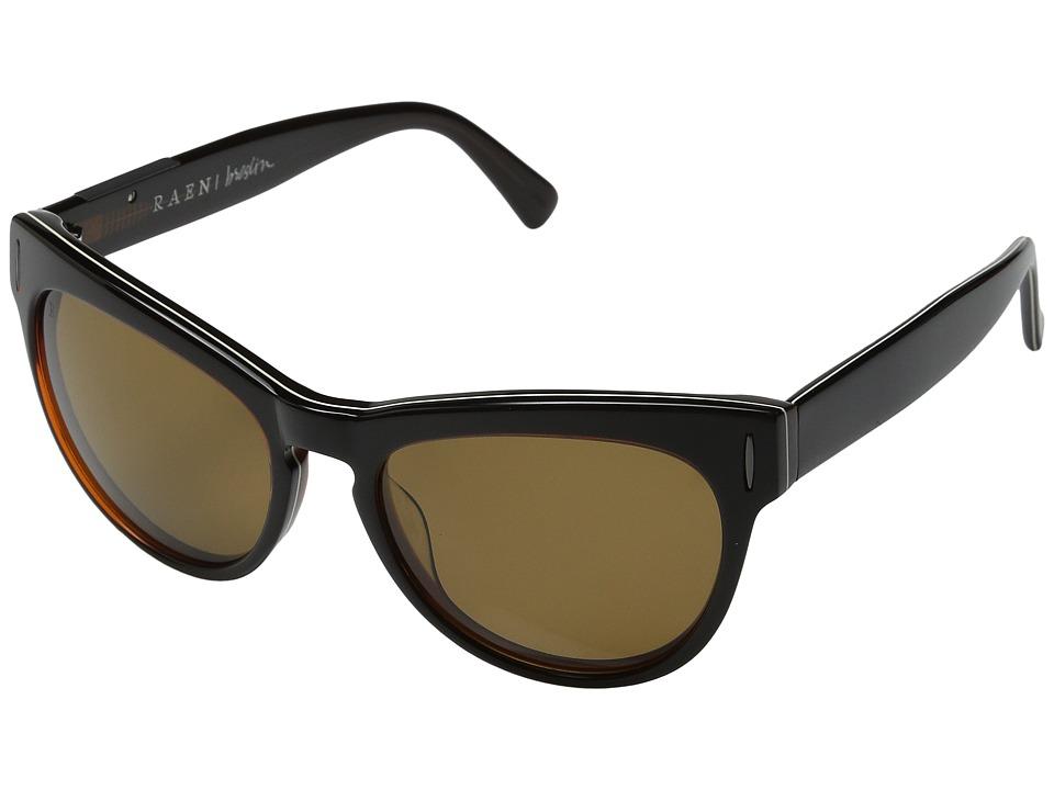 RAEN Optics - Breslin (Brown/White Pin Stripe) Fashion Sunglasses