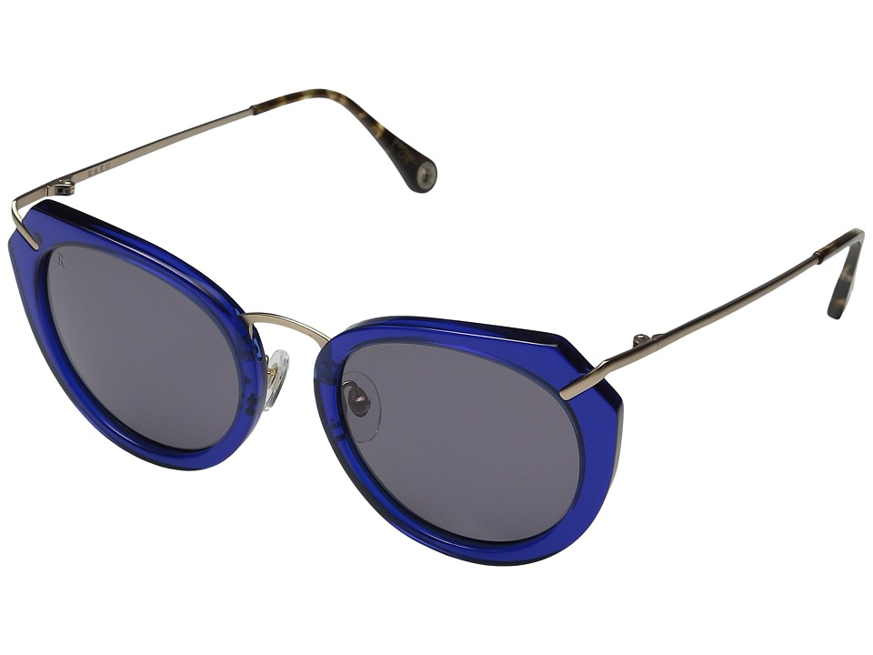 RAEN Optics - Pogue (Blue Crystal/Brindle Temple) Fashion Sunglasses