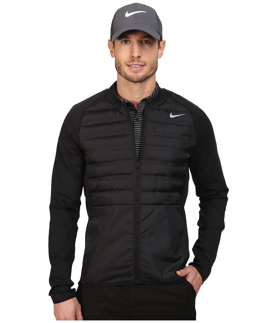 Nike Golf - Hyperadapt Jacket (Black/Black/Black/Reflective Silver) Men's Coat