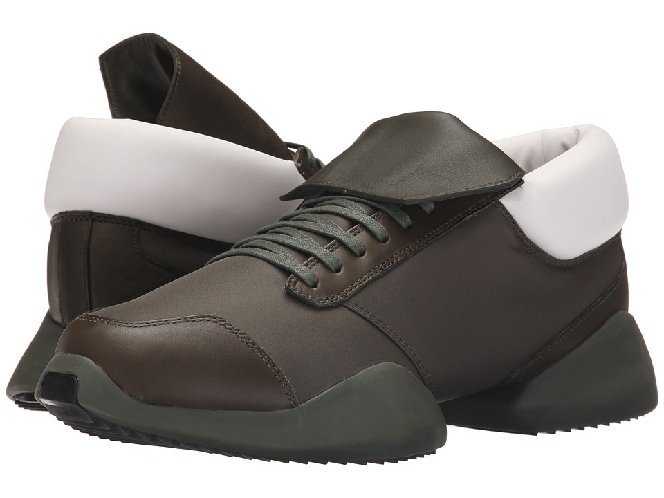 adidas by Rick Owens - RO Runner (Earth Greens/Earth Greens/RO Milk) Men's Shoes