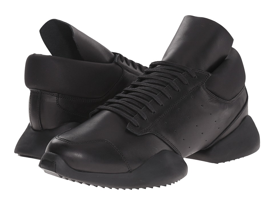 adidas by Rick Owens - RO Runner (Core Black/Core Black/Core Black) Shoes