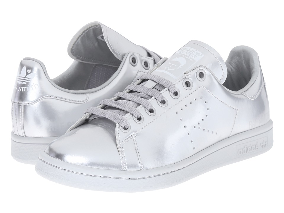 adidas by Raf Simons - Raf Simons Stan Smith (Silver Met/Silver Met/Silver Met) Athletic Shoes