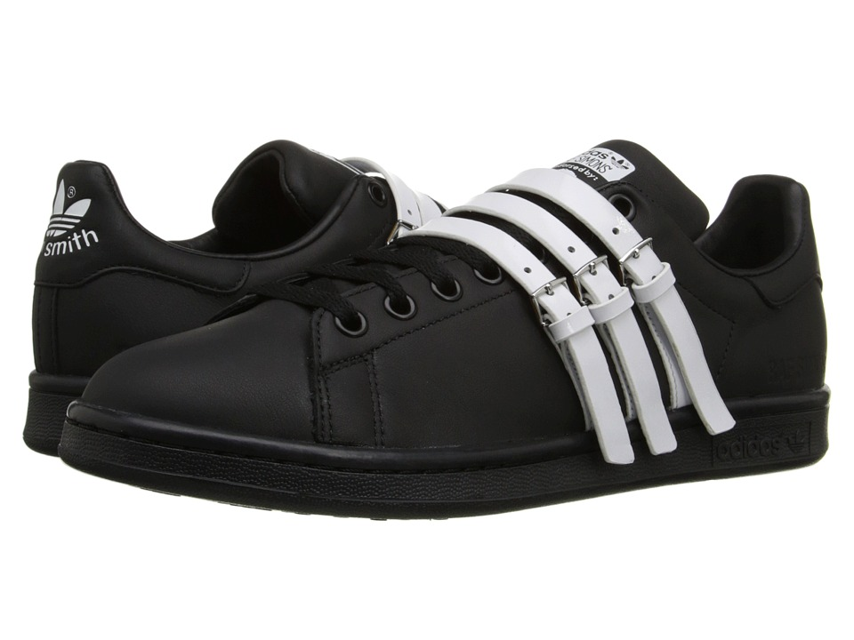 adidas by Raf Simons - Raf Simons Stan Smith Strap (Core Black/Core Black/Vintage White S15-ST) Men's Shoes