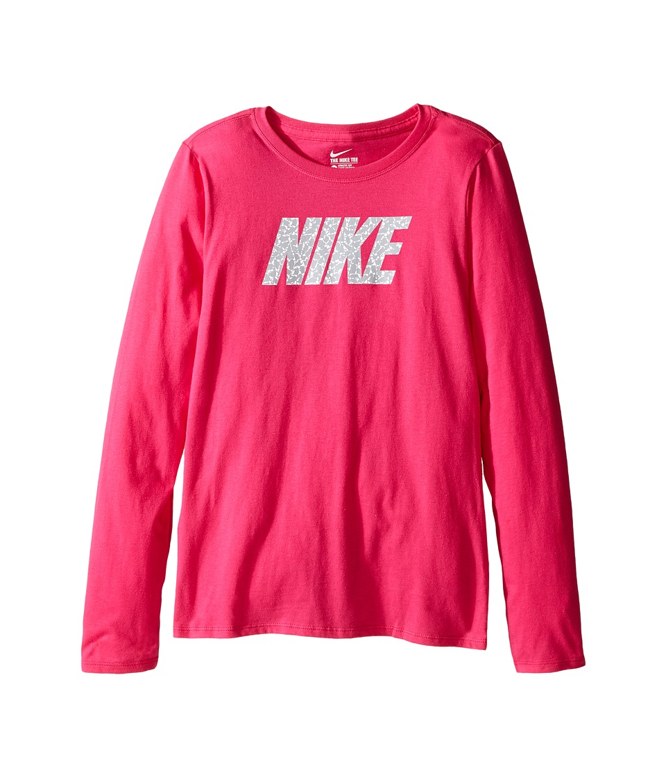 Nike Kids - Pattern Training T-Shirt (Little Kid/Big Kid) (Vivid Pink) Girl's Clothing