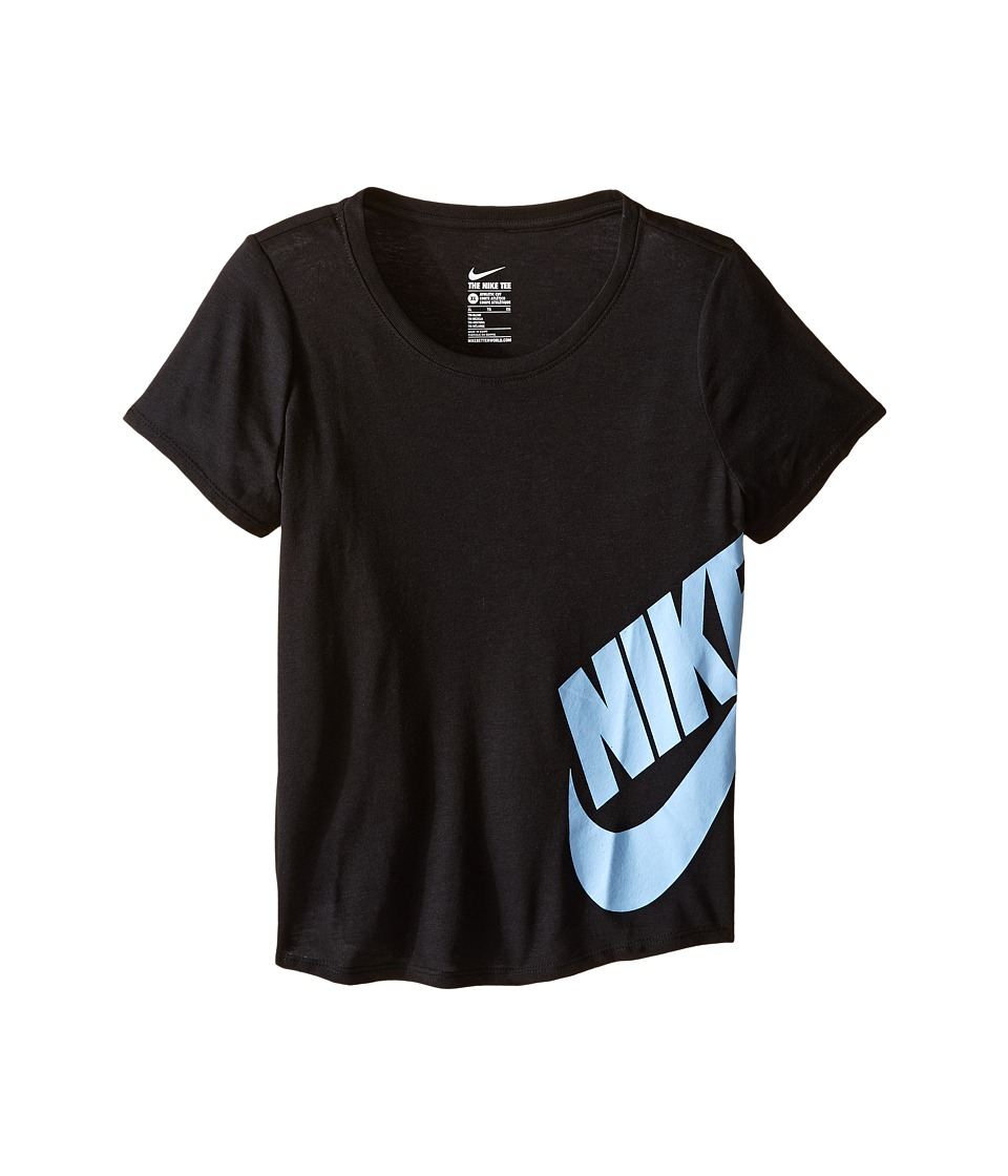 Nike Kids - Futura Training T-Shirt (Little Kid/Big Kid) (Black) Girl's T Shirt