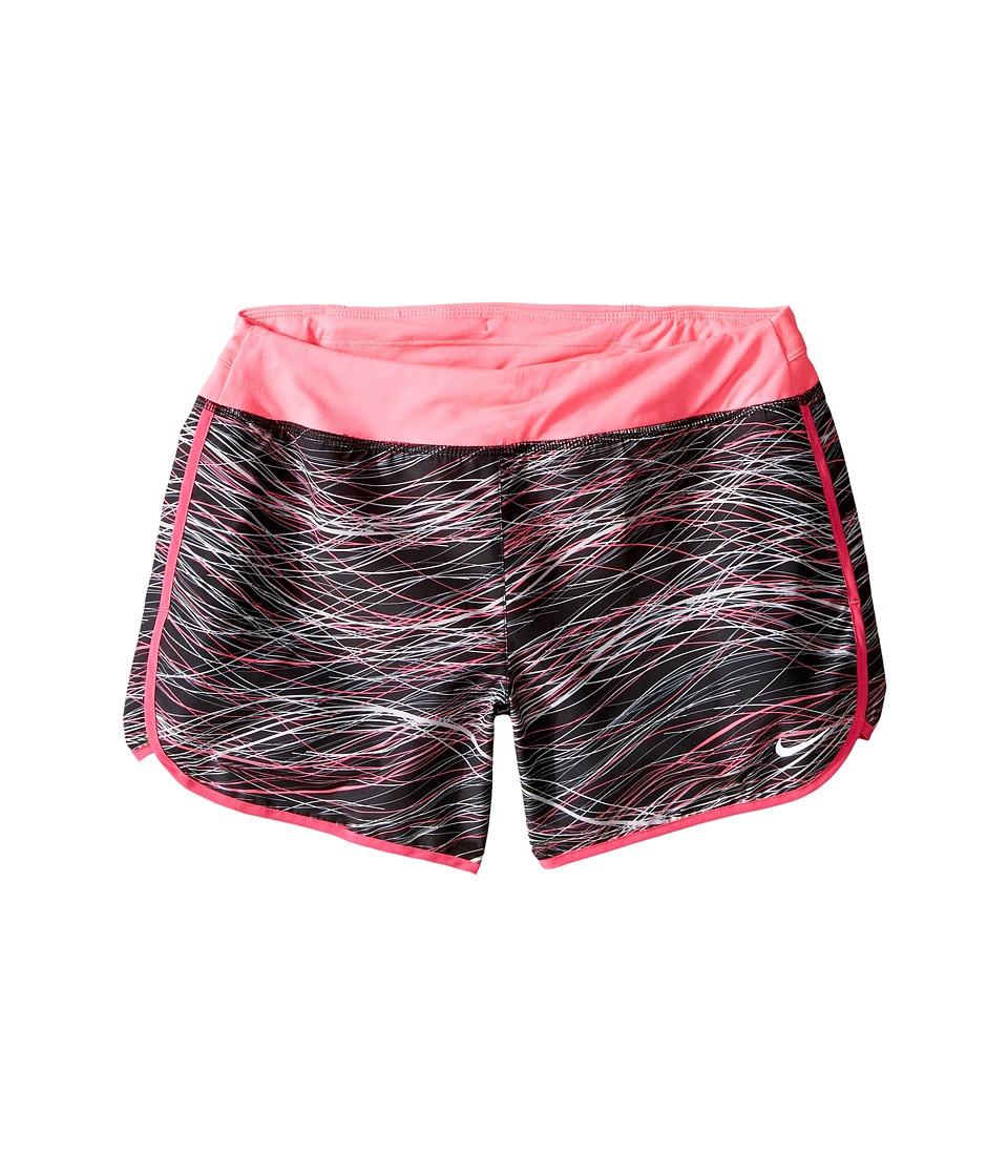 Nike Kids - Dry 3 Print Running Short (Little Kid/Big Kid) (Hyper Pink/Hyper Pink/Reflective Silver) Girl's Shorts