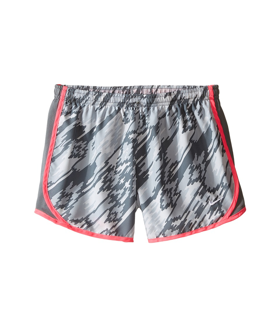 Nike Kids - Dry Tempo Running Short AOP2 (Little Kid/Big Kid) (Pure Platinum/Cool Grey/Hyper Pink/White) Girl's Shorts