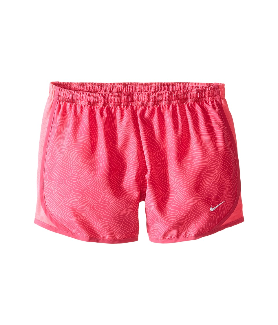 Nike Kids - Dry Tempo Running Short AOP6 (Little Kids/Big Kids) (Hyper Pink/Hyper Pink/Vivid Pink/White) Girl's Shorts