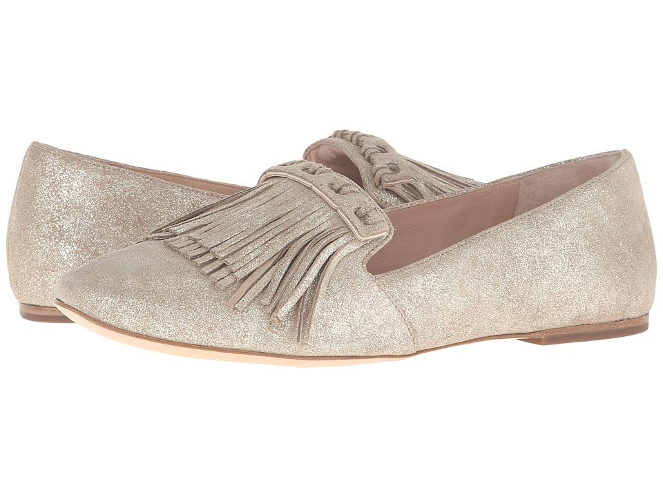 Diane von Furstenberg - Alderny (Storm Glitter Metallic Suede) Women's Shoes