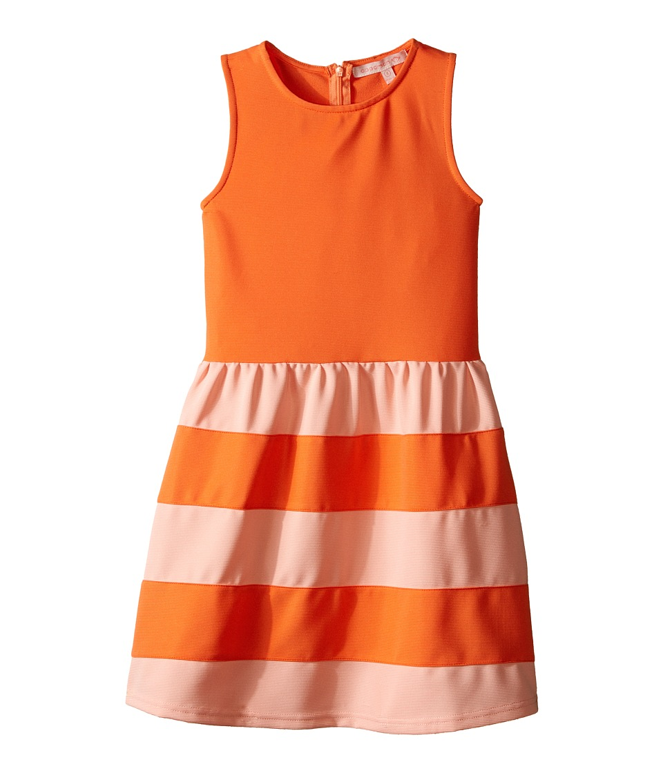 Appaman Kids - Classic and Comfy Alya Dress (Toddler/Little Kids/Big Kids) (Fusion Coral) Girl's Dress