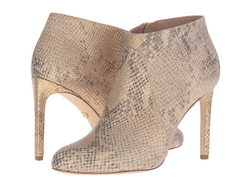 Diane von Furstenberg - Irma (Gold Embossed Python Print) Women's Shoes