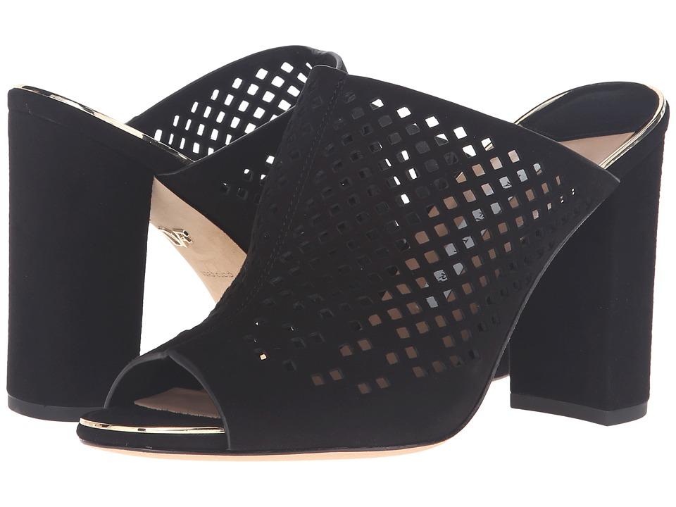 Diane von Furstenberg - Taviano (Black Kid Suede) Women's Shoes