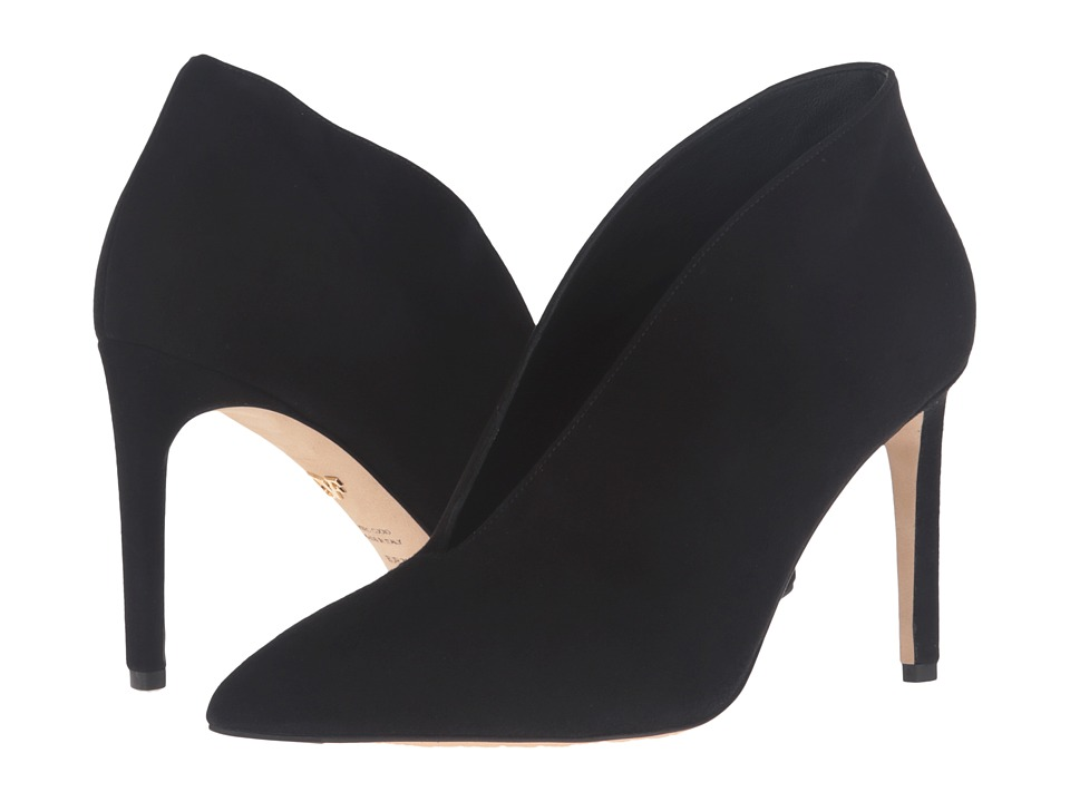 Diane von Furstenberg - Lovero (Black Kid Suede) Women's Shoes