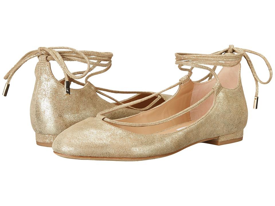 Diane von Furstenberg - Paris (Storm Glitter Metallic Suede) Women's Shoes