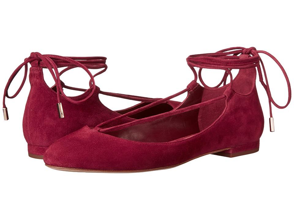 Diane von Furstenberg - Paris (Mulberry Kid Suede) Women's Shoes