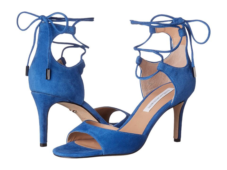 Diane von Furstenberg Rimini (Blue Riviera Kid Suede) Women