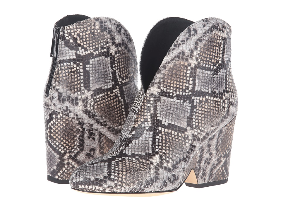 Diane von Furstenberg - Tarnes (Grey Embossed Python Print) Women's Shoes